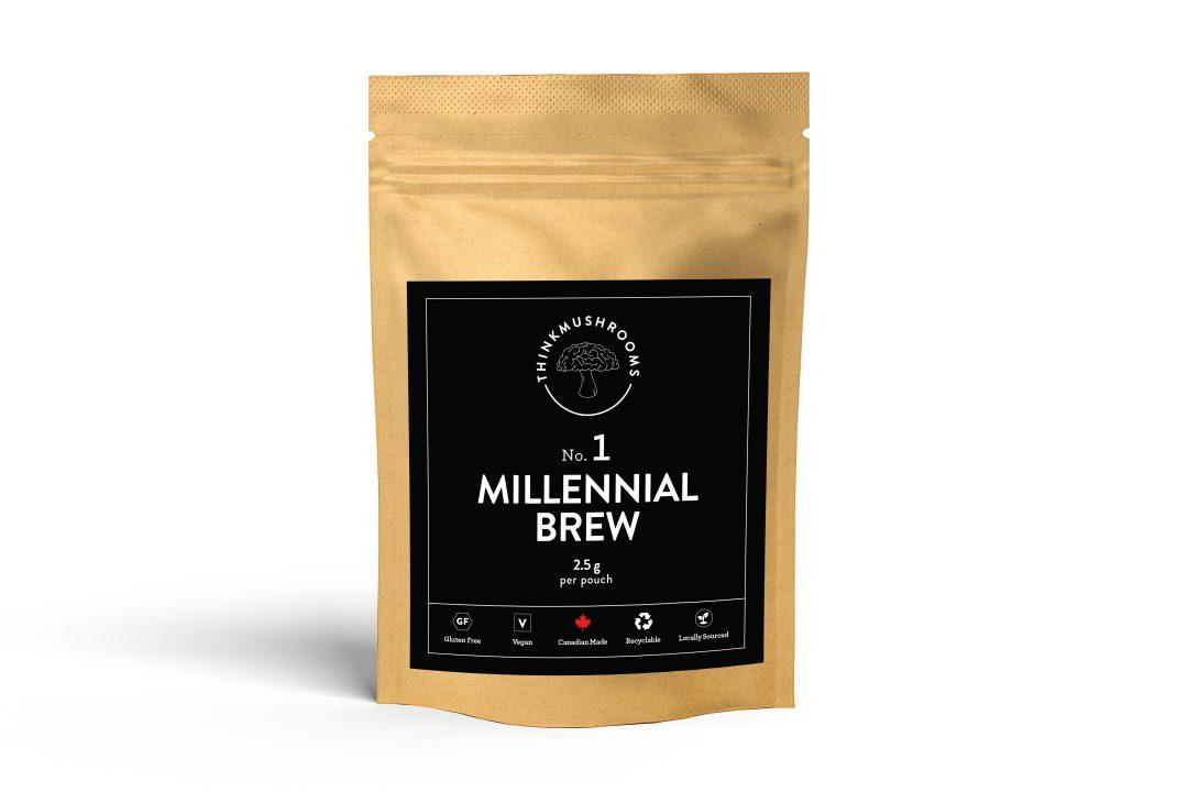 Millennial Brew - Shroom Tea | Buy Psilocybin Magic Mushroom Online Canada