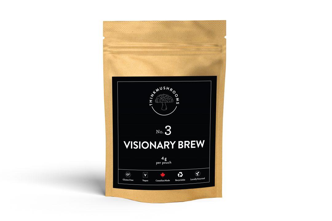 Visionary Brew - Shroom Tea | Buy Psilocybin Magic Mushroom Online Canada